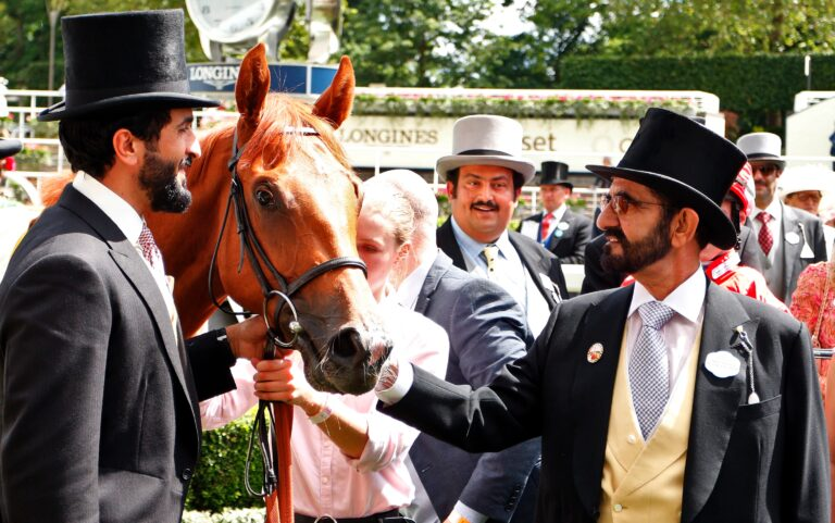 Daahyeh wins the Gr.3 Albany Stakes at Royal Ascot